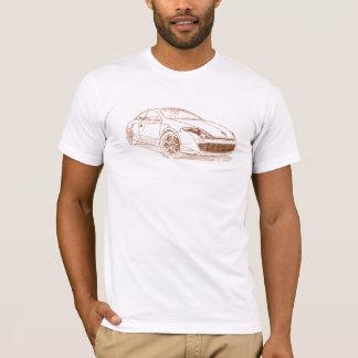Laguna van Ren Coupé 2009 T Shirt
