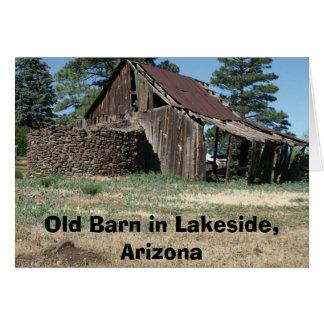 LakesideBarn, Oude Schuur in Oever van het meer, Briefkaarten 0