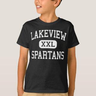 Lakeview - Hoge Spartans - - Battle Creek Michigan T Shirt