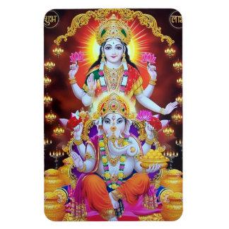 Lakshmi & Magneet Ganesha