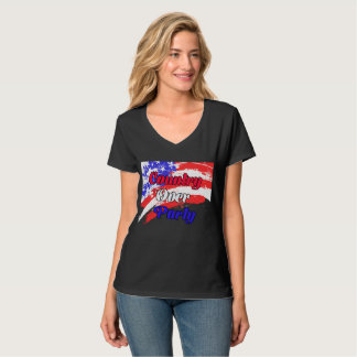 Land over Partij T Shirt