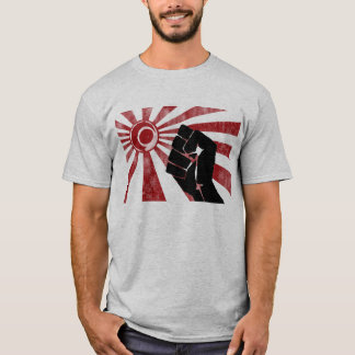 Land van de het Toenemen Vuist T Shirt