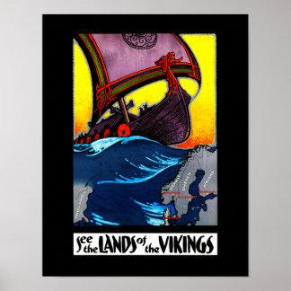 Land van het Poster van Vikingen