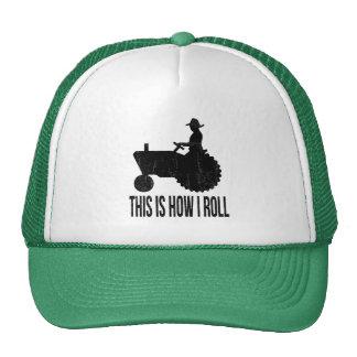 Landbouwer op Tractor zo ROL ik Trucker Cap