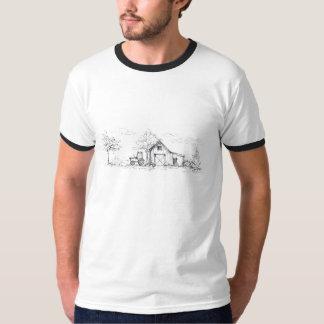 Landelijk de beloverhemd van de Schets T Shirt