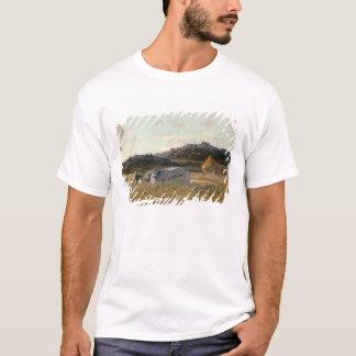 Landschap 2 van de zomer t shirt