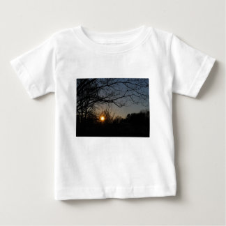 landschap baby t shirts