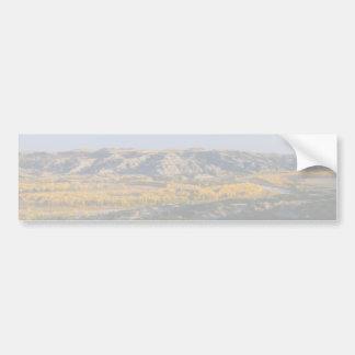 Landschap het Noord- van Dakota Bumpersticker