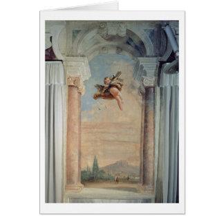 """Landschap met Cupido, van """"Foresteria"""" (Gast Wenskaart"""