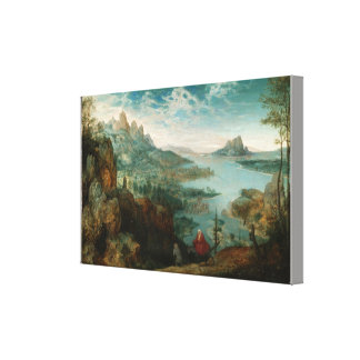 Landschap met de vlucht in Egypte Stretched Canvas Prints