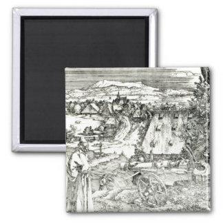 Landschap met Kanon, 1518 Magneet