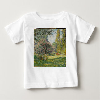 Landschap Parc Monceau - Claude Monet Baby T Shirts