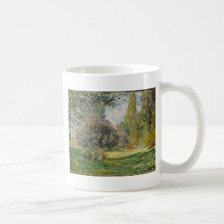 Landschap Parc Monceau - Claude Monet Koffiemok