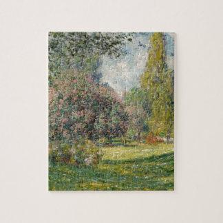 Landschap Parc Monceau - Claude Monet Legpuzzel
