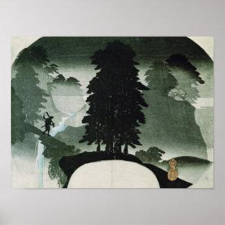 Landschap Poster