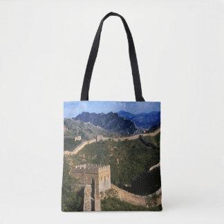 Landschap van Grote Muur, Jinshanling, China