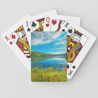Landschap van Meer Costello Speelkaarten