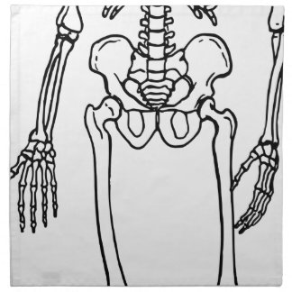 Lang Skelet Servet