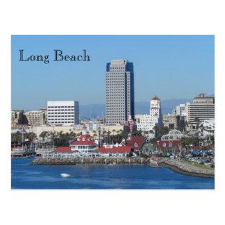 Lang Strand, Californië Briefkaart