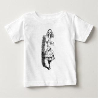 Lange Hals Alice Baby T Shirts