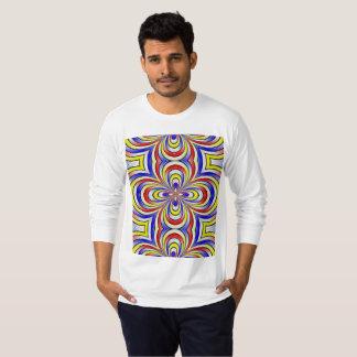 Lange Sleeve T-S van Jersey van de Kleding van het T Shirt