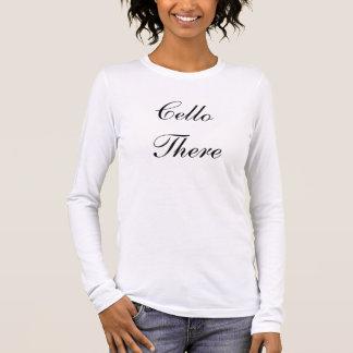Lange Sleeve van de cello het daar T Shirts