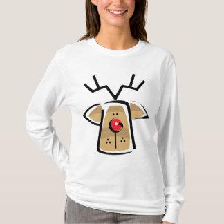 Lange Sleeved van de Vrouwen van Kerstmis T Shirt