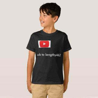 lange youtubeoverhemden t shirt