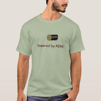Langs aangedreven ADHD T Shirt
