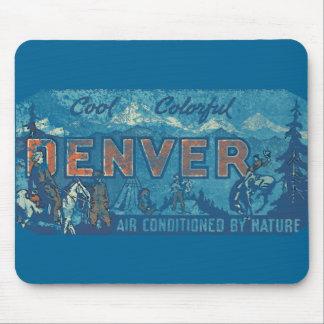 Langzaam verdwenen Denver Muismat