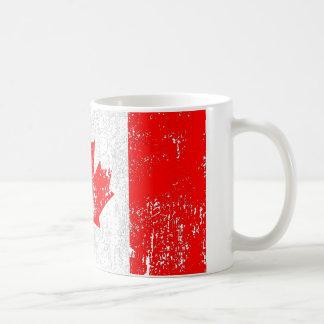 Langzaam verdwenen Vlag van Canada Koffiemok