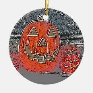 Lantaarn hefboom-o rond keramisch ornament