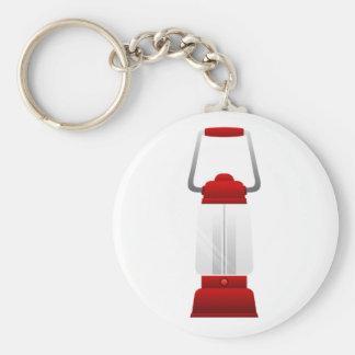 Lantaarn Keychain Basic Ronde Button Sleutelhanger
