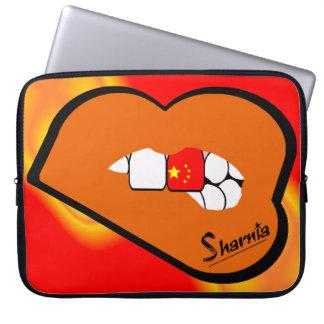 Laptop van China van de Lippen van Sharnia Sleeve