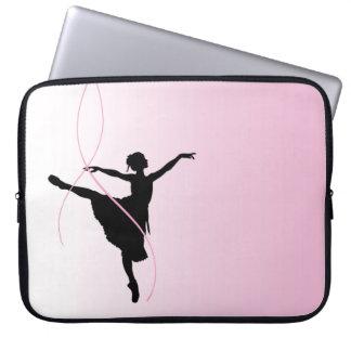 Laptop van de Ballerina van Prima Sleeve Laptop Sleeve Hoezen