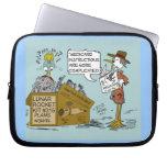 Laptop van de Cartoon van gezondheidszorg voor bej Laptop Computer Hoes