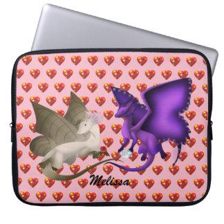 Laptop van de Draken van de Vlinder van Laptop Sleeve