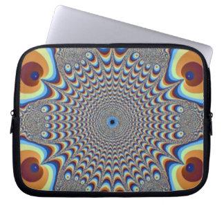Laptop van de Illusie van de pauw Sleeve