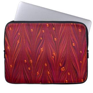 Laptop van de Parel van de Rode Wijn van Bourgondi Computer Sleeve