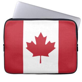 Laptop van de Vlag van Canada Sleeve