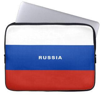 Laptop van de Vlag van Rusland Sleeve