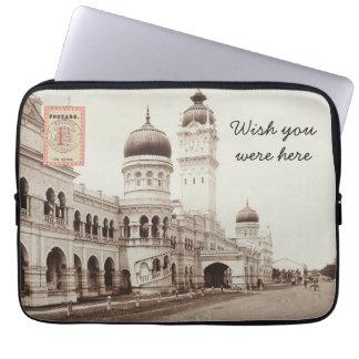 Laptop van het briefkaart Sleeve - Kuala Lumpur Laptop Computer Hoezen