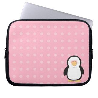Laptop van het Neopreen van de pinguïn Sleeve 10 d