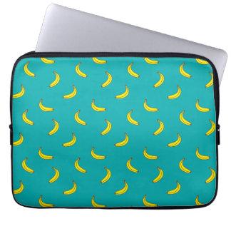 Laptop van het Patroon van de banaan Sleeve