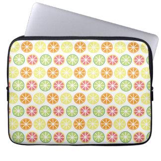 Laptop van het Patroon van de citrusvrucht Sleeve