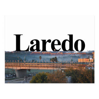 Laredo, Horizon TX met Laredo in de Hemel Briefkaart