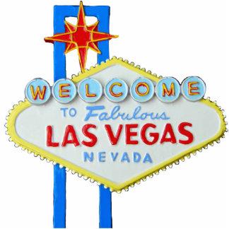 Las Vegas, Nevada, Welkom Teken Staand Fotobeeldje