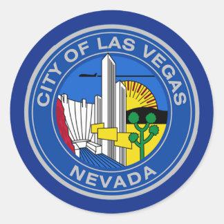 Las Vegas Ronde Sticker