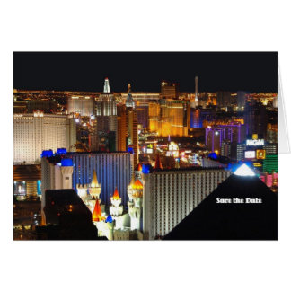 Las Vegas sparen de Kaart van de Datum, voegt uw