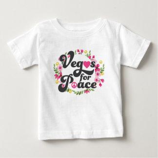Las Vegas voor Vrede Baby T Shirts